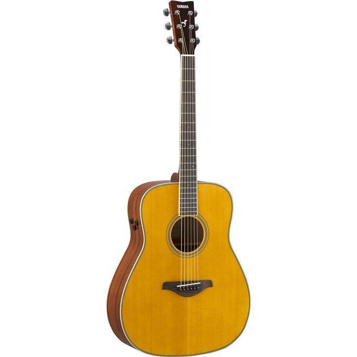 【送料無料】ヤマハ YAMAHA FG-TA VT ギターの生音にエフェクト トランスアコースティックギター ビンテージティント (ソフトケース付)【代金引換不可】【smtb-TK】