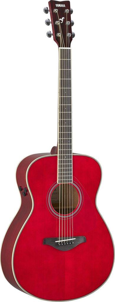【送料無料】ヤマハ YAMAHA FS-TA RR ギターの生音にエフェクト トランスアコースティックギター ルビーレッド (ソフトケース付)【代金引換不可】【smtb-TK】