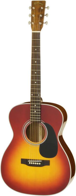 ARIA AF-40LTD CS (Cherry Sunburst) Solid Sitka Spruce トップ フォークタイプ アコースティックギター/ケース付【送料無料】【smtb-TK】