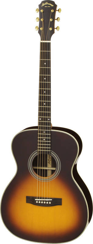 ARIA AF-505 TS Tobacco Sunburst オール単板 アコースティックギター/ケース付【送料無料】【smtb-TK】