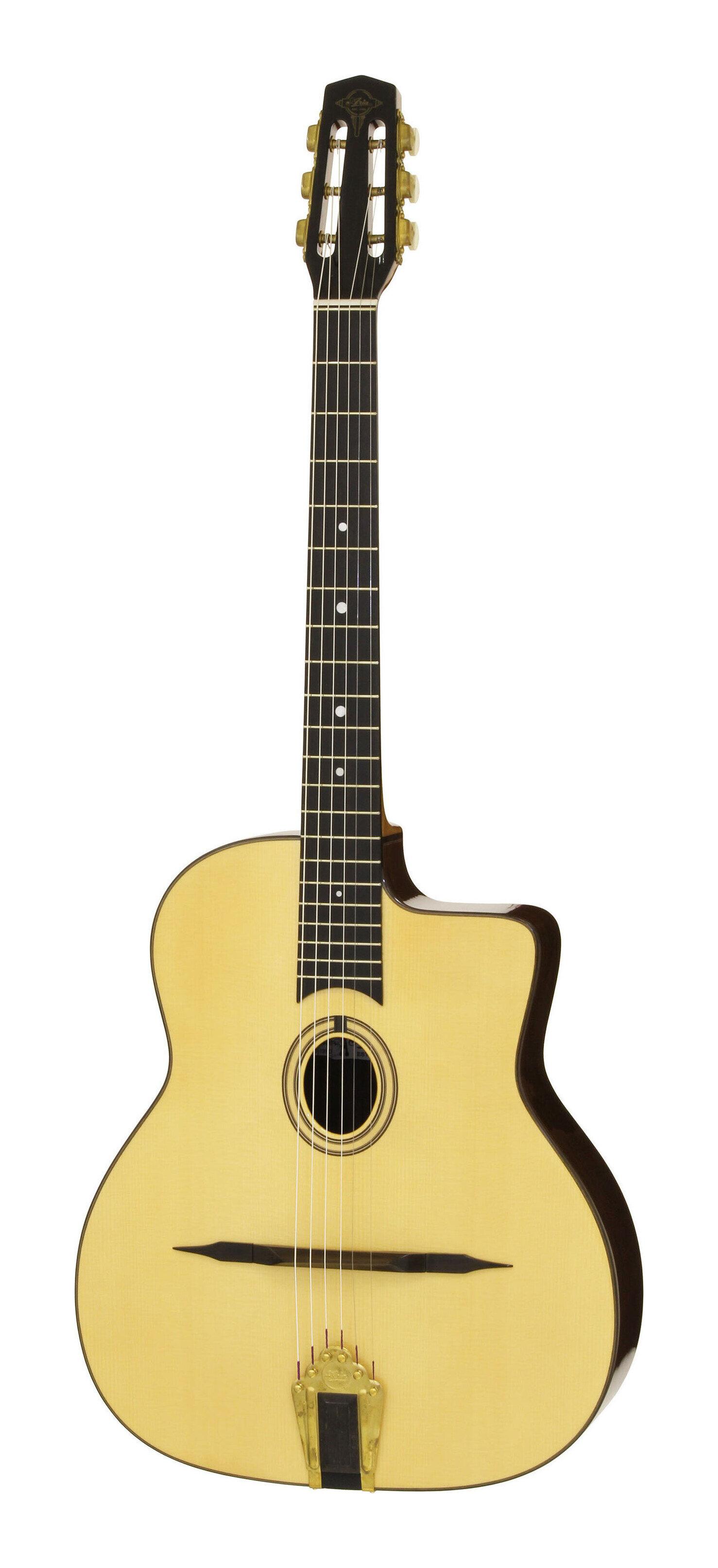 ARIA MM-100 O Natural 開催中 Gloss マカフェリ Oval-hole smtb-TK ハードケース付 送料無料 スタイル アコースティックギター 売れ筋