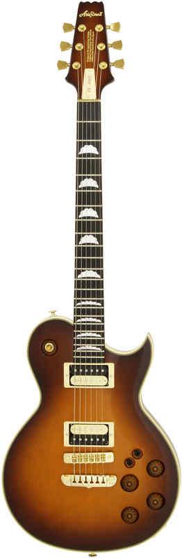 【送料無料】アリアプロツー AriaProII PE-R80/JB(Japan Brown) エレキギター/ハードケース付【smtb-TK】