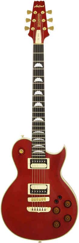 【送料無料】アリアプロツー AriaProII PE-R80/SR(See-through Red) エレキギター/ハードケース付【smtb-TK】