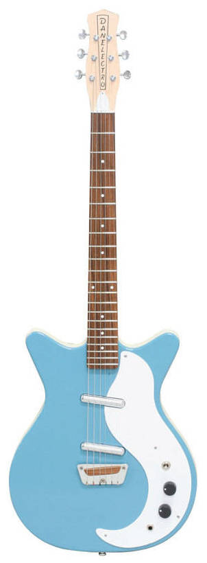 【送料無料】DANELECTRO '59 復刻デザイン STOCK '59 AQM(AQUAMARINE) 復刻デザイン STOCK エレキギター【smtb-TK】, THE WATCH SHOP.:324925ca --- officewill.xsrv.jp