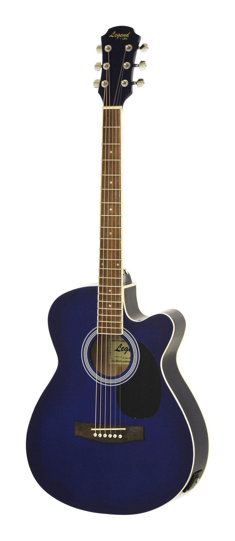 Legend FG-15CE BLS(Blue Shade) エレクトリック アコースティック ギター エレアコ【送料無料】【smtb-TK】