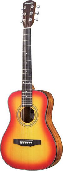 【送料無料】モーリス Morris LA-231I/CS(Cherry Sunburst) コンパクトサイズ アコースティックギター/ソフトケース付【smtb-TK】