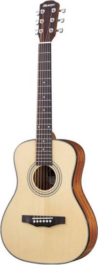 【送料無料】モーリス Morris LA-231I/NAT(Natural) コンパクトサイズ アコースティックギター/ソフトケース付【smtb-TK】