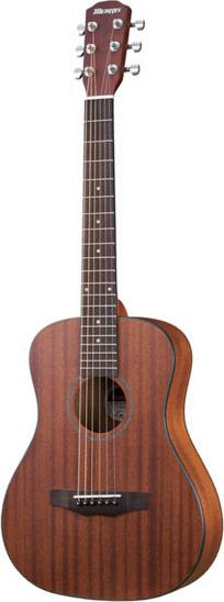 【送料無料】モーリス Morris LA-231I/NS(サペリ) コンパクトサイズ アコースティックギター/ソフトケース付【smtb-TK】