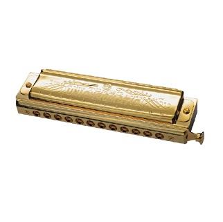 トンボ楽器 TOMBO No.1248SG ユニ・クロマチック・ゴールド クロマチックハーモニカ
