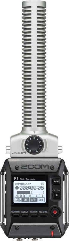 【送料無料】ズーム ZOOM F1-SP 軽量コンパクトなフィールドレコーダー+超指向性ショットガンマイク【smtb-TK】