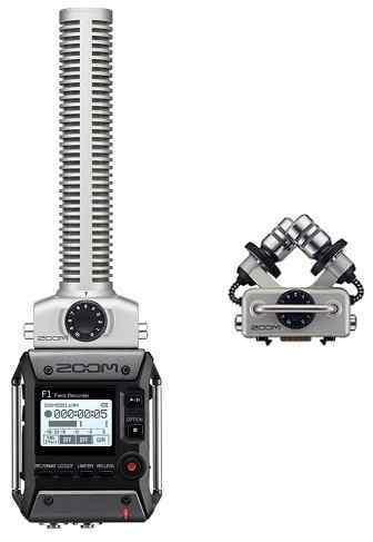 【送料無料】ズーム ZOOM F1-SP(追加マイク/XYH-5付) 軽量コンパクトなフィールドレコーダー+超指向性ショットガンマイク【smtb-TK】