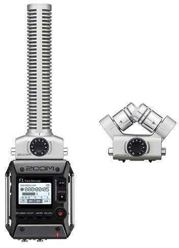 【送料無料】ズーム ZOOM F1-SP(追加マイク/XYH-6付) 軽量コンパクトなフィールドレコーダー+超指向性ショットガンマイク【smtb-TK】