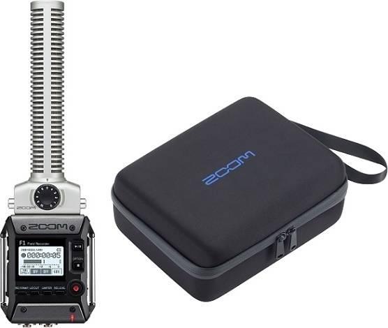 ズーム ZOOM F1-SP(純正キャリングバッグ/CBF-1SP付) 軽量コンパクトなフィールドレコーダー+超指向性ショットガンマイク【smtb-TK】【送料無料】