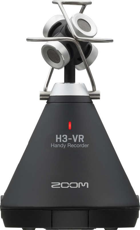 【在庫あり】【送料無料】ズーム ZOOM H3-VR 360°Virtual Reality Audio Recorder ASMR配信などに 360度レコーダー【smtb-TK】