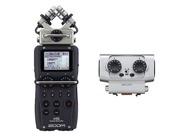 ZOOM H5(XLR/TRSコンボカプセル/EXH-6付)【送料無料】ズーム ハンディ・レコーダー【smtb-TK】【ポイント5倍】