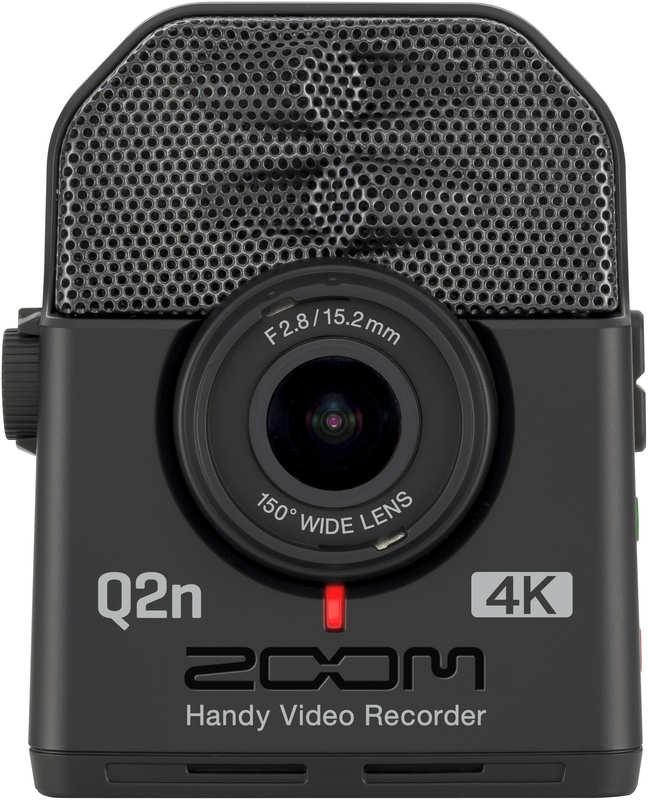 ZOOM Q2n-4K 【送料無料】ズーム ミュージシャンのための4Kカメラ Handy Video Recorder ハンディビデオレコーダー【smtb-TK】