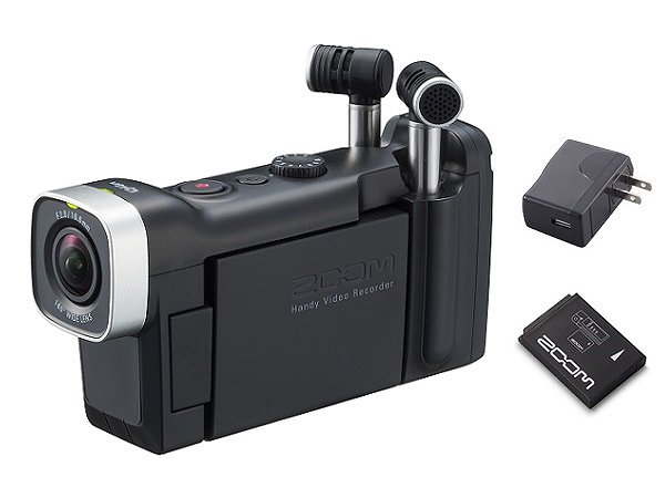 ZOOM Q4n+BT-02+AD-17A(追加バッテリー+ACアダプター) 音にこだわるビデオレコーダー【smtb-TK】【送料無料】