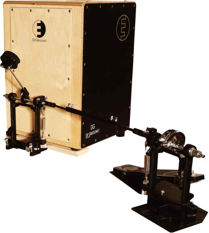 【送料無料】DeGregorio/DG DrumBox Plus(ラージサイズ) カホン 専用ペダルセット【smtb-TK】