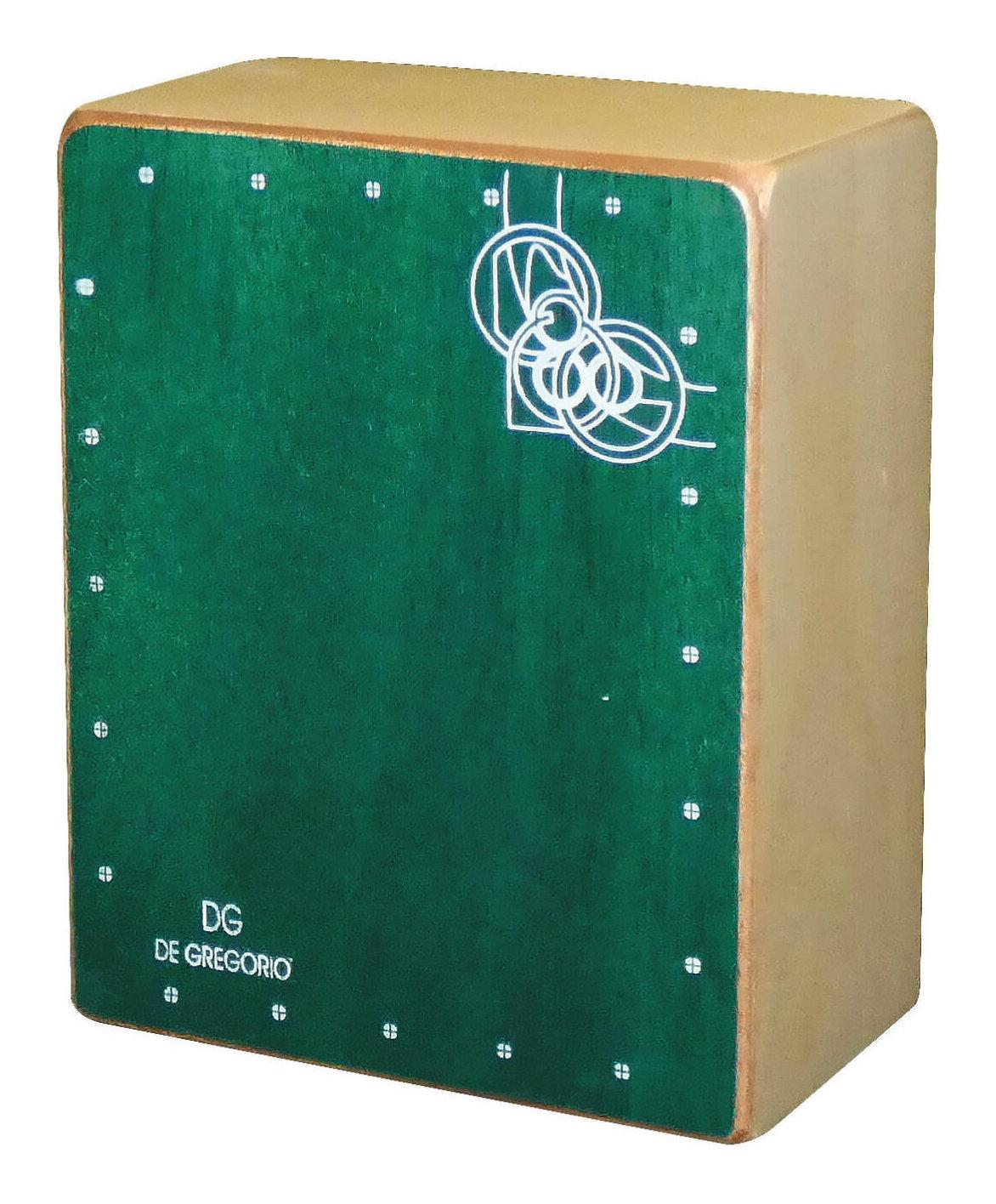 お買い得品 De Gregorio 販売実績No.1 DG Mini Cajon 送料無料 smtb-TK GREEN ミニカホン