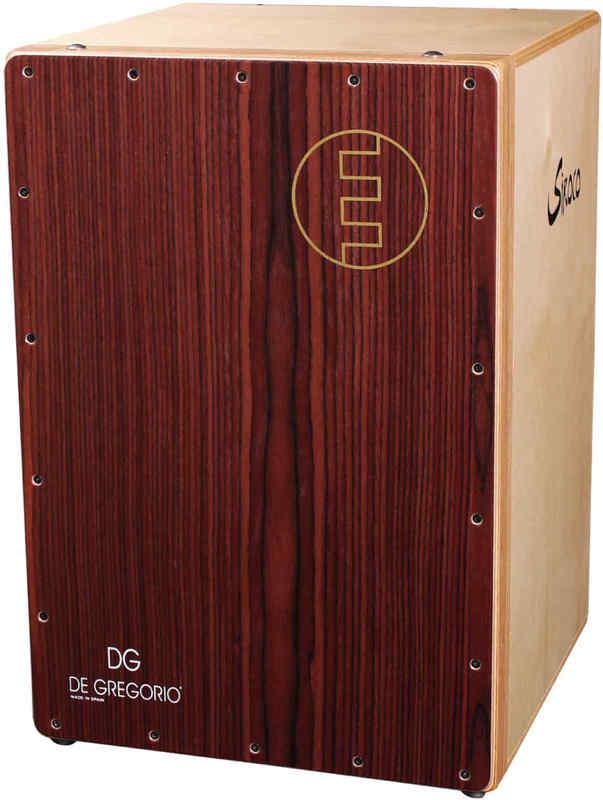 【送料無料】DeGregorio/DG Siroco Plus 折りたたみ式 カホン【smtb-TK】
