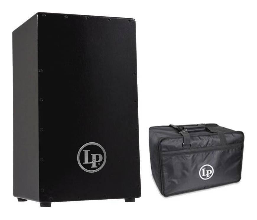 【送料無料】ラテン・パーカッション Latin Percussion LP LP1428NY+LP523 Black Box Cajon Made in USA カホン/純正バッグ付【smtb-TK】