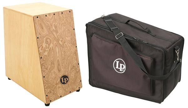 【送料無料】ラテンパーカッション LP LP1433+LP526 Angled Cajon+Case 打面に角度【smtb-TK】