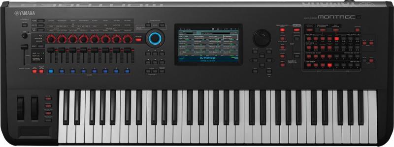 【送料無料】ヤマハ YAMAHA MONTAGE6 フラッグシップシンセ PCM音源+FM音源+USBオーディオMIDIインターフェース【smtb-TK】