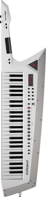 Roland AX-Edge-W【送料無料】ローランド ホワイト Keytar キーター ステージ・パフォーマンス・キーボード【代金引換不可】【smtb-TK】, 国内発送 f45c6ac6