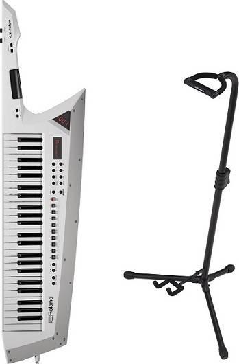 Roland AX-Edge-W+専用スタンド/ST-AX2【送料無料】ローランド ホワイト Keytar キーター ステージ・パフォーマンス・キーボード【代金引換不可】【smtb-TK】, アクアクラフト 9870d636