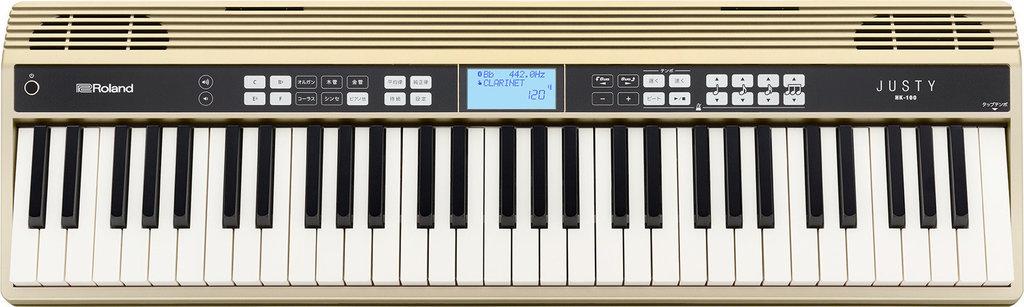 【送料無料】ローランド Roland JUSTY HK-100 吹奏楽、合唱の基礎練習に ハーモニー&リズム練習用キーボード【smtb-TK】