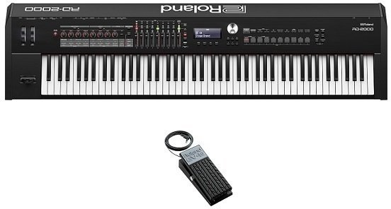 【送料無料・代金引換不可】ローランド Roland RD-2000(エクスプレッションペダル/EV-5付) ステージ・ピアノに、革新を【smtb-TK】