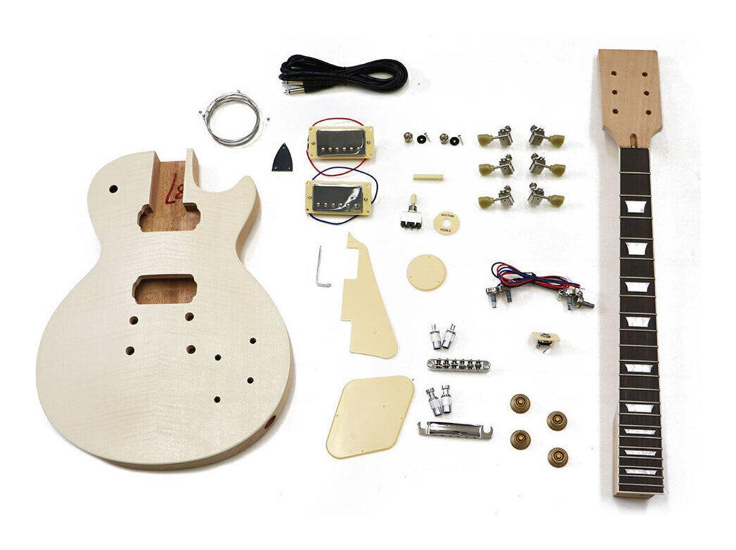 【送料無料】HOSCO ER-KIT-LP エレキギター/レスポールタイプ 組み立てキット ★難易度:中【smtb-TK】