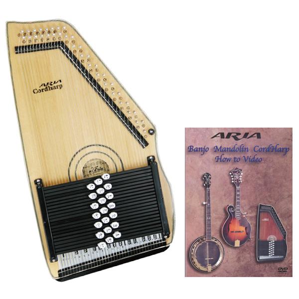 【送料無料】【教則DVD付】アリア ARIA ACH-210S コードハープ/オートハープ 【smtb-TK】