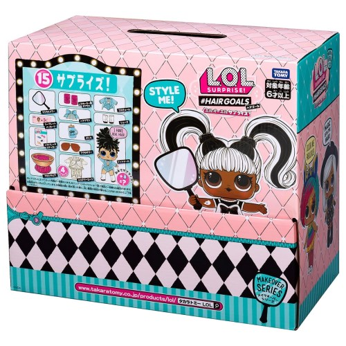 【送料無料】L.O.L. サプライズ! メイクオーバーシリーズ ヘアゴール 12個入りBOXセット(デザイン選択不可)女の子 プレゼント 誕生日 プレゼント 人形遊び コレクタブルドール タカラトミー