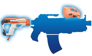 NERF n-strike modulus strike and defend upgrade kit boy gifts birthday gifts Christmas gifts Tomy(takaratomy)
