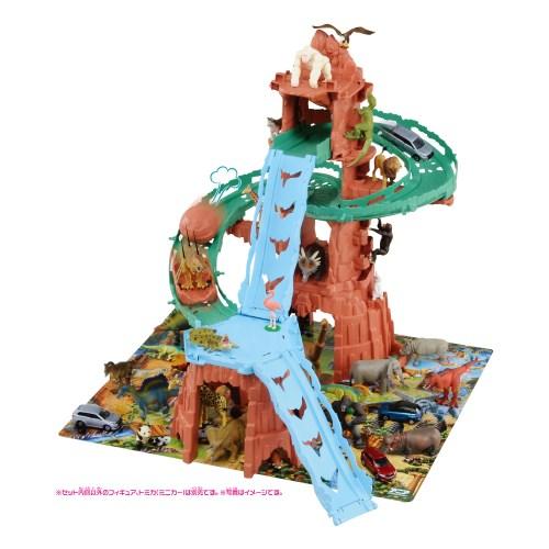 【送料無料】アニア 変形!ビッグフォールマウンテン 恐竜 フィギュア 男の子プレゼント 誕生日プレゼント クリスマスプレゼント 動物フィギュアシリーズ タカラトミー (ラッピング不可商品)