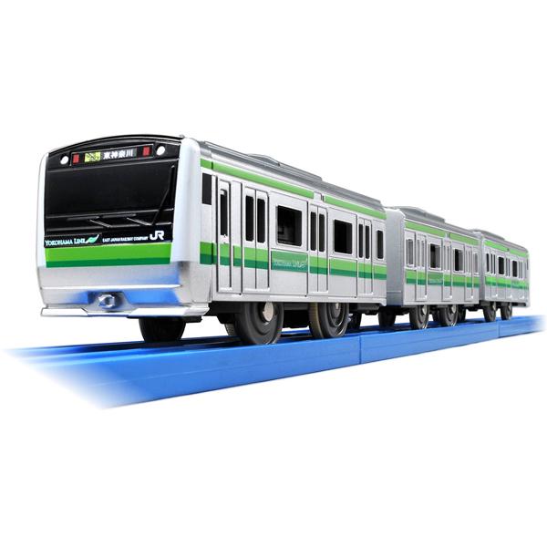 Toy 3 Years Old 4 5 Boy Present Birthday Railroad TAKARA TOMY Of The Fun Train Series E233 System Yokohama Line