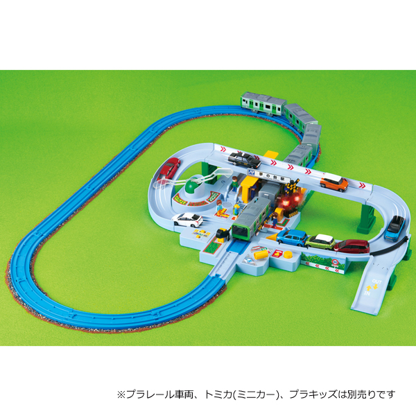 Let's play with Pla-rail Tomica