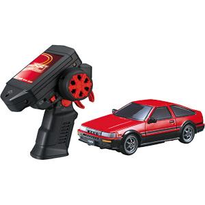 Driftpaccagenano 闪存冲刺集的丰田花冠莱文 (AE86) 无线电控制汽车遥控车暖男孩礼物生日礼品玩具 Tomy(takaratomy)