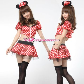 Cute Ribbon Minnie mouse baby costume ears  sc 1 st  Rakuten & TOYLAND CLOVER | Rakuten Global Market: Cute Minnie mouse baby ...