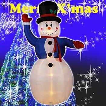 【送料無料】クリスマス エアーディスプレイ MEGAサイズ NEWジャンボスノーマン WG-4532 スノーマン エアーディスプレイ 室内用 クリスマス ディスプレイ クリスマスイルミネーション クリスマス 電飾