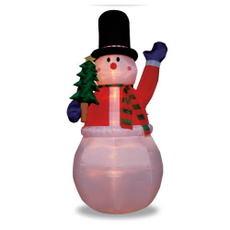 【送料無料】クリスマス エアーディスプレイ GIGAサイズ ジャンボツリースノーマン WG-5522 スノーマン エアーディスプレイ 室内用 クリスマス ディスプレイ クリスマスイルミネーション クリスマス 電飾