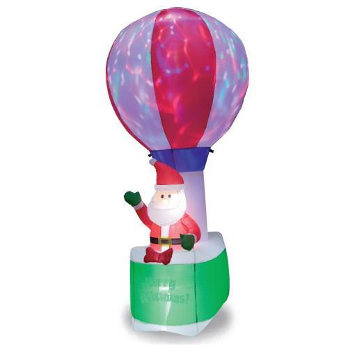 【送料無料】エアーディスコライトディスプレイ(L)バルーンサンタ WG-6514 サンタクロース エアーディスプレイ 室内用 クリスマス ディスプレイ クリスマスイルミネーション クリスマス 電飾