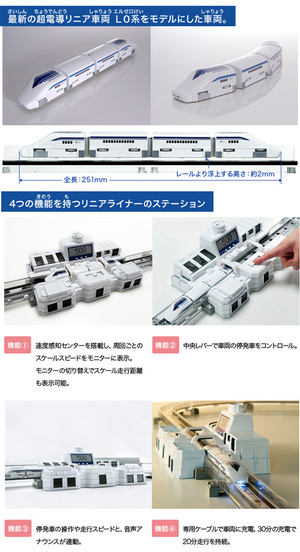 線性班輪超導線性 L0 火車集玩具男孩禮物生日禮物磁懸浮磁懸浮 Tomy(takaratomy)