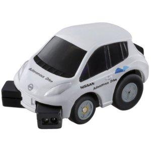 氯-Q Q 眼睛 QE-01 日產 LEAF 測試車汽車車玩具車玩具男孩禮物生日禮物
