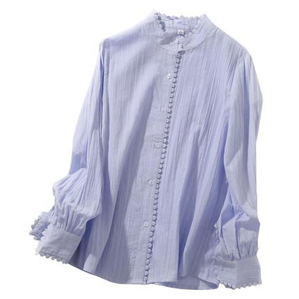 可愛い かわいい シャツ 細身長袖シャツ ワイシャツ ゆったり 薄いシャツ ジャケット 春秋ファッション 通常便なら送料無料 Gジャン スクールシャツ 税込 事務服 日常服 シンプル コーディネート 開襟 フォーマル オフィス ビジネス