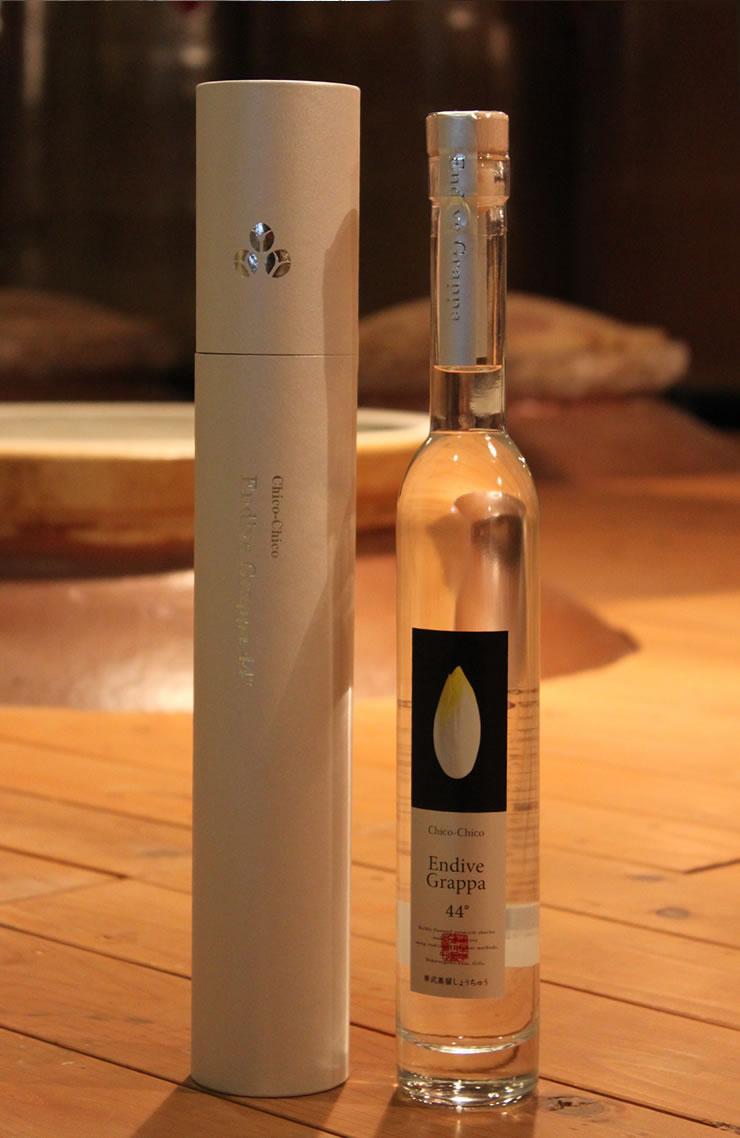 Endive Grappa 44 ° (Endive grappa 44 °) 350 ml bottle (boxed)
