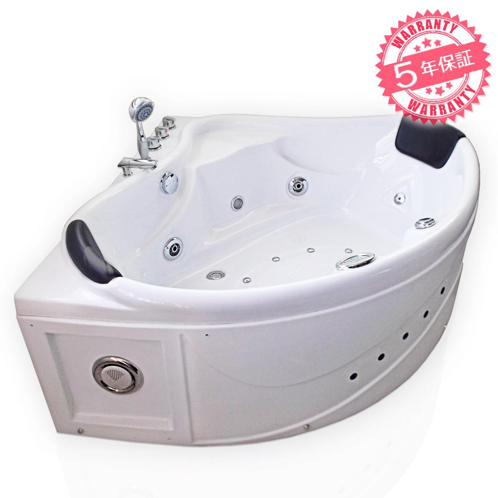 全商品を低価格、長期保証でご提供いたします。どうぞお客様ご自身でお確かめ下さい。 最安値!サイズ:132x132x66h ★保証5年★ジャグジー、ジェットバス、ジェット浴槽、ジェットお風呂、ジャグジーバス、ジャグジーお風呂【3232-CP】バスタブ・お風呂・浴槽・ユニットバス・置き型バス・ハンドシャワー、蛇口付き