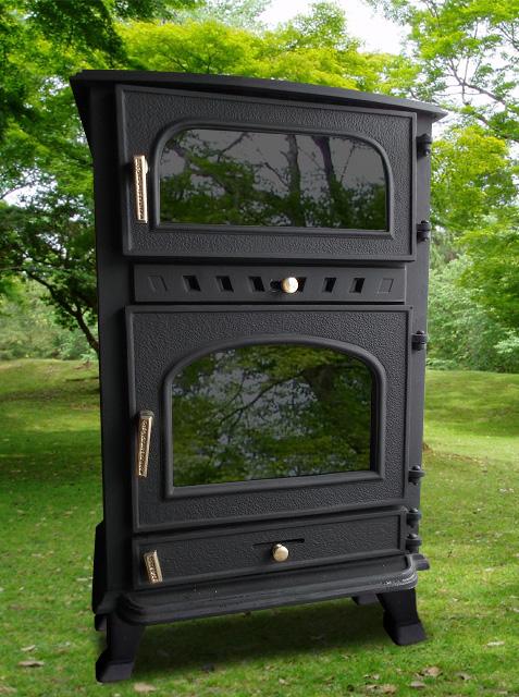 ■最安値!高評価!北欧仕様!2次燃焼 お住まいを暖める頑丈な鋳物構造、素早い着火の温暖器具 薪ストーブ SB183-035 RAK-035■