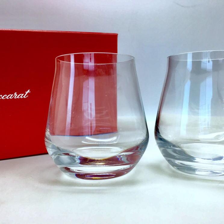 バカラ グラス 名入れ 記念品 退職祝い 引越し祝い 名入れギフト 名入れ無料 Baccarat シャトーバカラ ペア タンブラーS 2客セット0422335003066 <送料無料> ロックグラス 内祝い 父の日